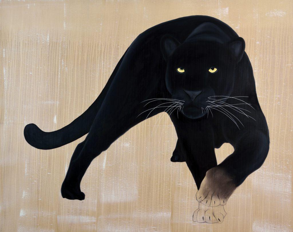 black panther thierry bisch photographer clementine de forton gallery