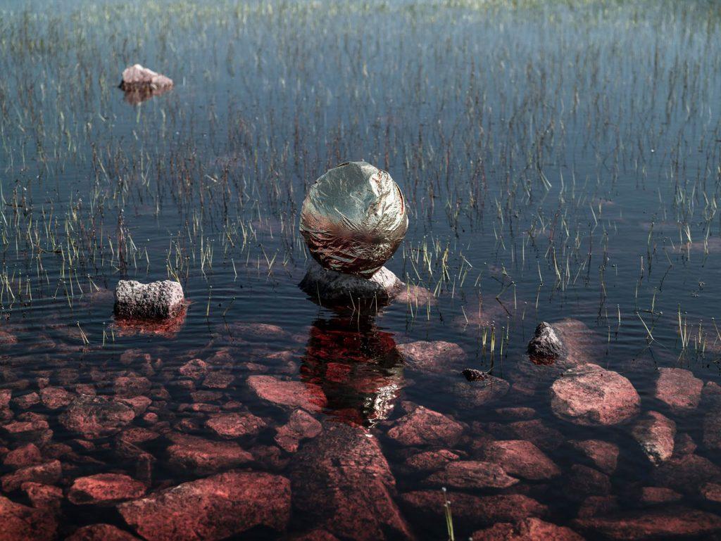 conversation with nature benjamin deroche clementine de forton gallery