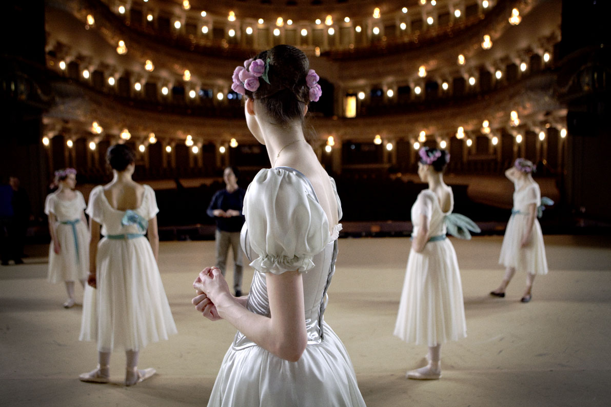 Bolshoi Moscou ballet photography gerard uferas clementine de forton gallery