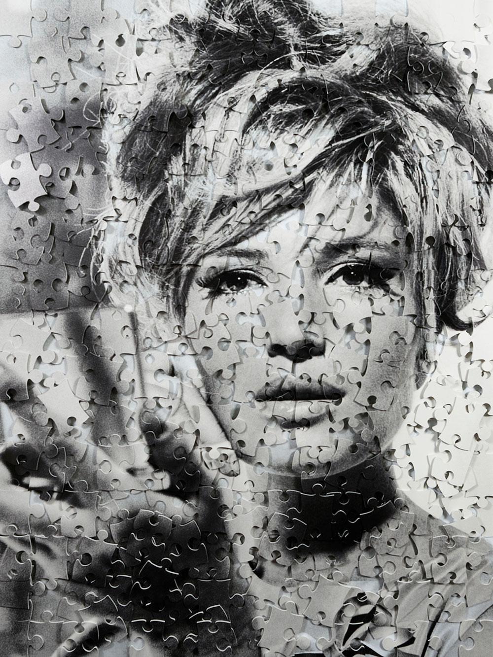 monica puzzle cecile plaisance french artist clementine de forton gallery