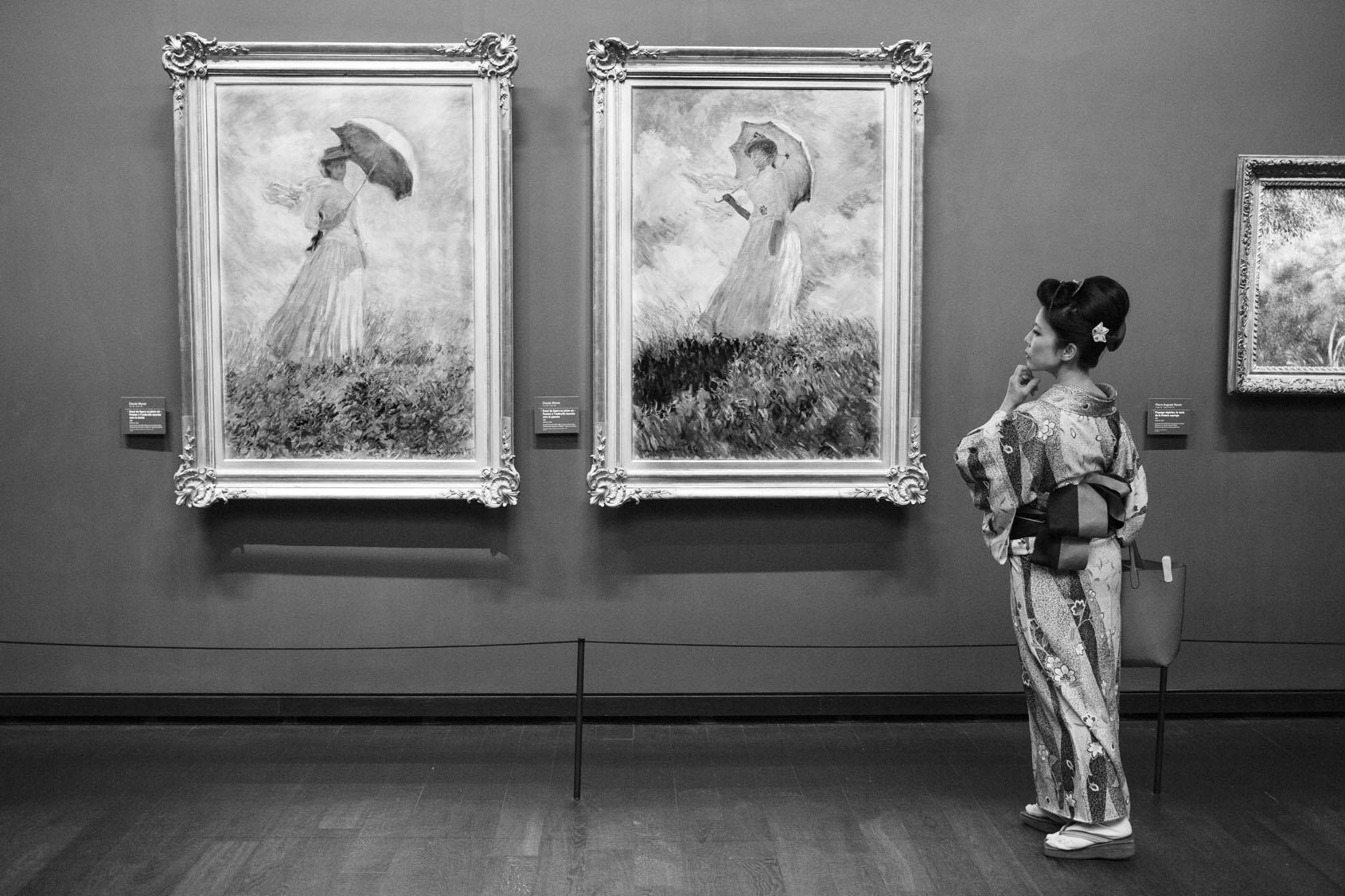 Orsay museum gerard uferas photographer clementine de forton gallery